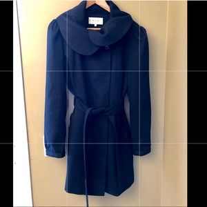 Vila Navy Coat Size Large
